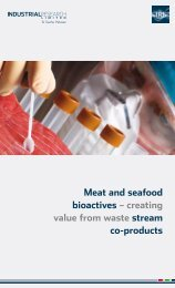 Meat and seafood bioactives – creating value from waste stream co ...