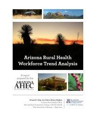 Arizona Rural Health Workforce Trend Analysis - Arizona Center for ...