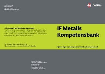 Arbetsgivare - IF Metall