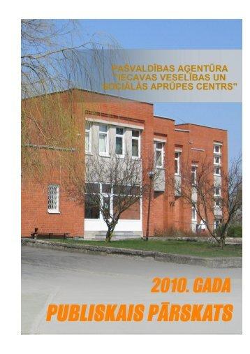 2010.gada publiskais pārskats