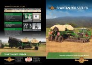 SPARTAN 907 SEEDER - Great Plains International