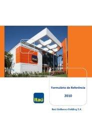 Itaú Unibanco Holding SA - Relações com Investidores - Banco Itaú