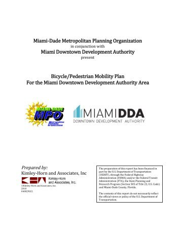 Miami-Dade Metropolitan Planning Organization Miami Downtown ...