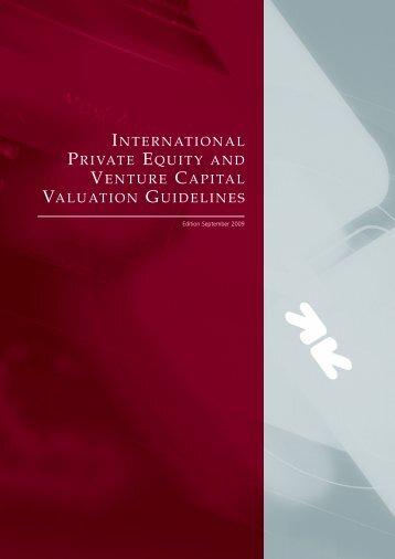 International Private Equity and Venture Capital ... - Réseau capital