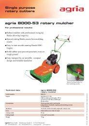 agria 8000-53 rotary mulcher - Gp1.ro