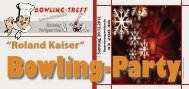 Roland Kaiser - Bowling-Treff Dresden