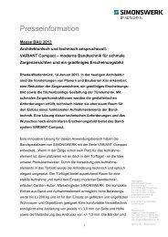 PDF-Datei - SIMONSWERK GmbH