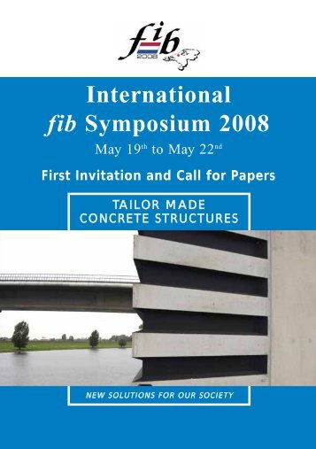 International fib Symposium 2008 - ReLUIS