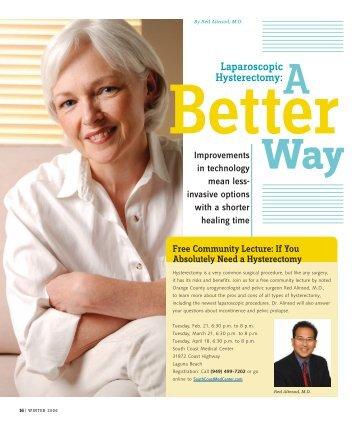 Laparospic Hysterectomy - Urogyn.org