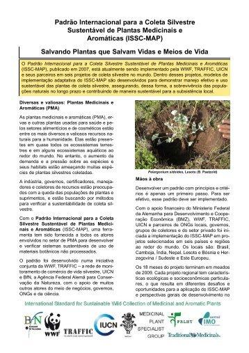 Padrão Internacional para a Coleta Silvestre Sustentável ... - FloraWeb