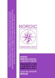 nordic immunological laboratories reagents for laboratory ... - MGP