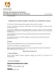 Téléchargez la liste des membres - Centre hospitalier de Montauban