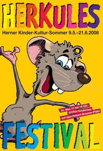 Herner Kinder-Kultur-Sommer 9.5.–21.6.2008 - Stadt Herne