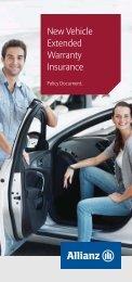 New Vehicle Extended Warranty Insurance - Stratton Finance