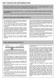 Your Portfolio Fund III Key Investor Information Document