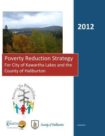 Poverty Reduction Strategy - Haliburton County Community ...