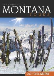 Hintertux Skiopenning 2007. október 19-23 ... - Montana Tours