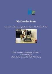 Versuchsbeschreibung - Halles Schülerlabor für Physik - Martin ...