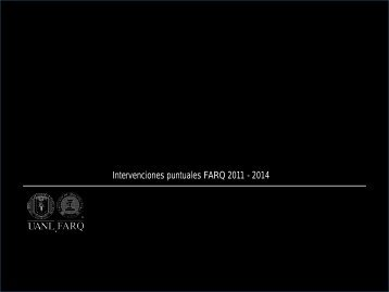 presentacion proyectos farq