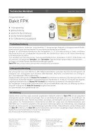 Bakit FPK_de.pdf - Kiesel Bauchemie GmbH & Co.KG