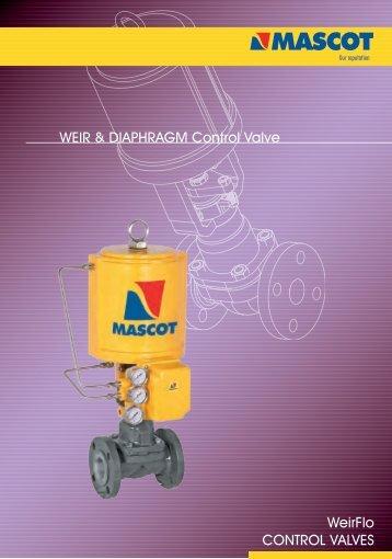 WeirFlo CONTROL VALVES WEIR & DIAPHRAGM Control Valve