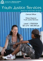 Applicant Information booklet -CO - Department of Corrective Services