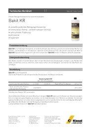 Bakit KR_de.pdf - Kiesel Bauchemie GmbH & Co.KG