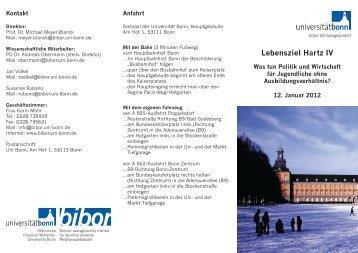 Nähere Infos - bibor - Universität Bonn