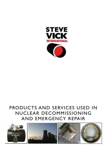 vick international Gas, water, nuclear, contract services, innovation, hire and training.