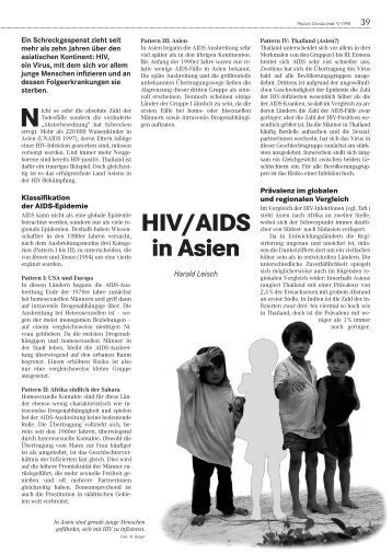 HIV/AIDS in Asien