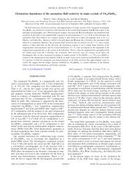 Orientation dependence of the anomalous Hall resistivity in single ...