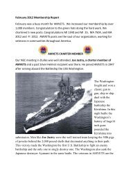 February 2012 Membership Report February was a busy ... - AmVets