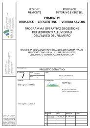 ELENCO ELABORATI - VIA - Regione Piemonte