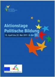 Aktionstage 2011 - Grenzgeschichte DG