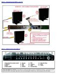 quick installation guide for cif dvr 8 ch model qsd42908c-250 - Q-See - Page 2