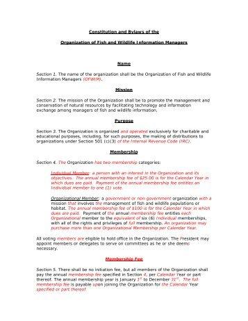 CONSTITUTION ANN ARBOR PARENT-TEACHER ORGANIZATION ...