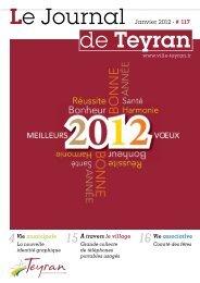 Janvier 2012 - # 117 - Ville de Teyran
