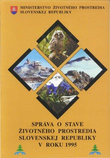 Životné prostredie Slovenskej republiky v rokoch 1992-1993