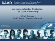 Internationalization Strategies: The Case of Germany Ulrich ... - ACUP