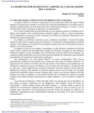 Olimpia M. García Aguilar .....134 - Inicio - UNAM