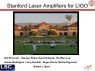 High Average Power Fiber Lasers for LIGO