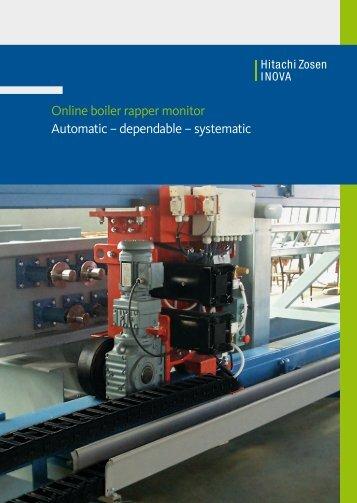 Online Boiler Rapper Monitor - Hitachi Zosen Inova AG
