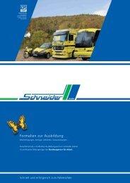 Wichtig! - Kraftfahrer-Ausbildungszentrum Schneider GmbH