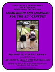 leadership and learning for the 21st century pre-conference ... - IAASE