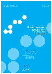 Human respiratory syncytial virus - Diagenode Diagnostics