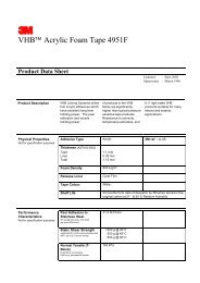 UHMW Tapes Product Sheet Booklet - Curbellplastics com