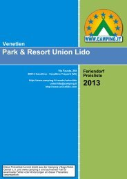 Park & Resort Union Lido Venetien - Camping.it