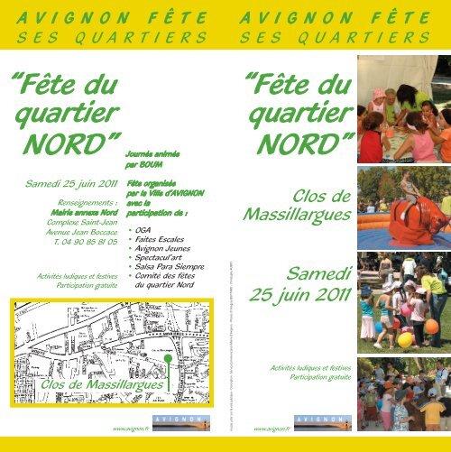 Fête du quartier NORD - Avignon