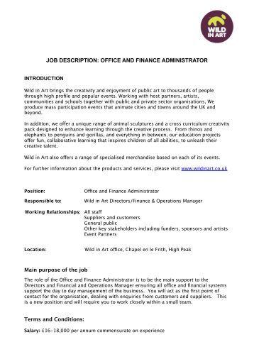Job description group office administrator - Office administrator job responsibilities ...