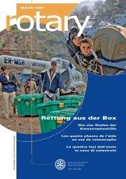 Rettung aus der Box - Rotary Schweiz